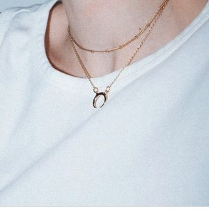 Brandy Melville Moon Necklace
